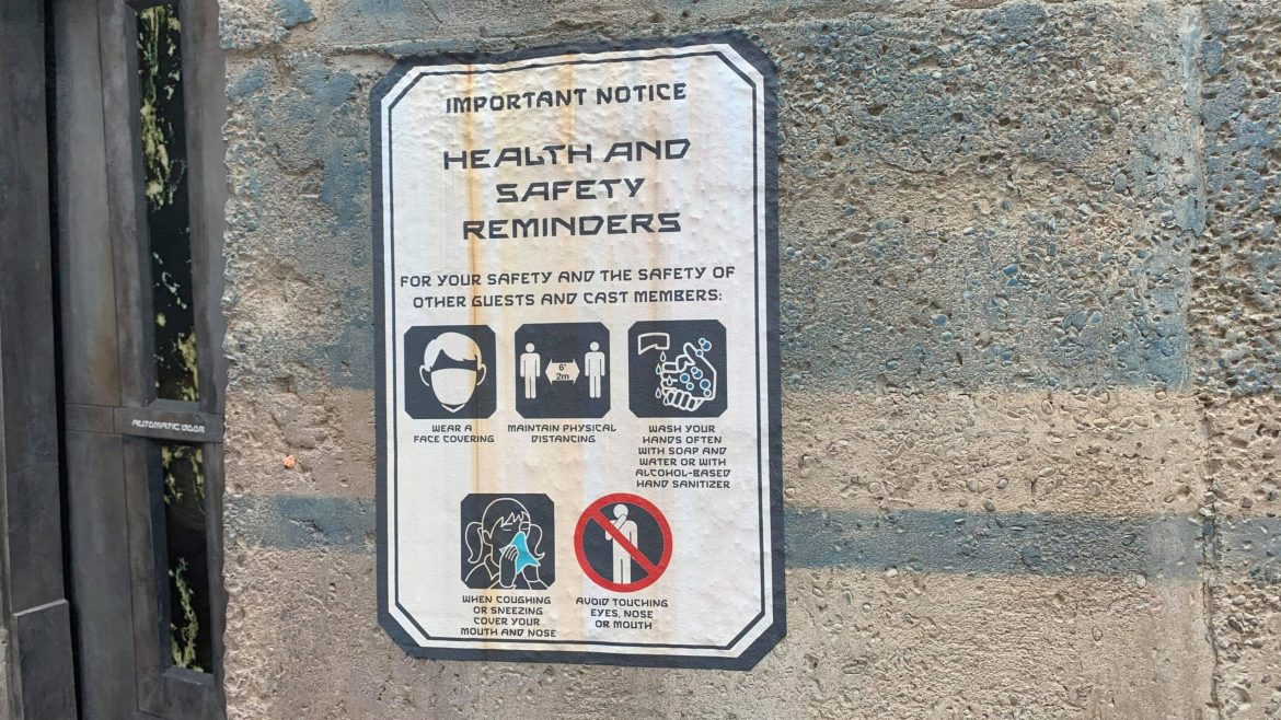 Disney World reducing physical distancing guidelines