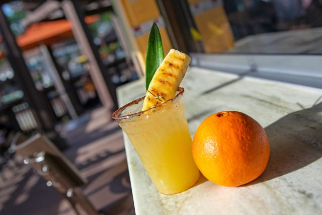 Try the New Pineapple Chipotle Margarita in Disney Springs 1
