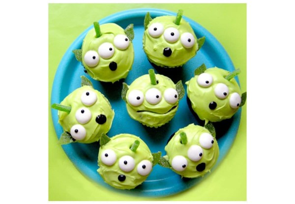 Toy Story Alien Cupcake