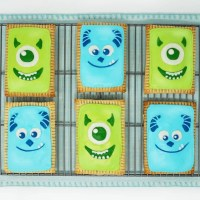 Monsters Inc Pop Tarts