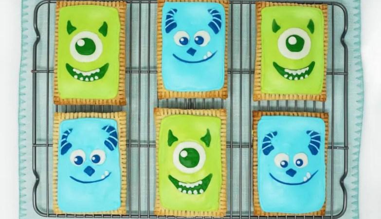 Monsters Inc Pop Tarts