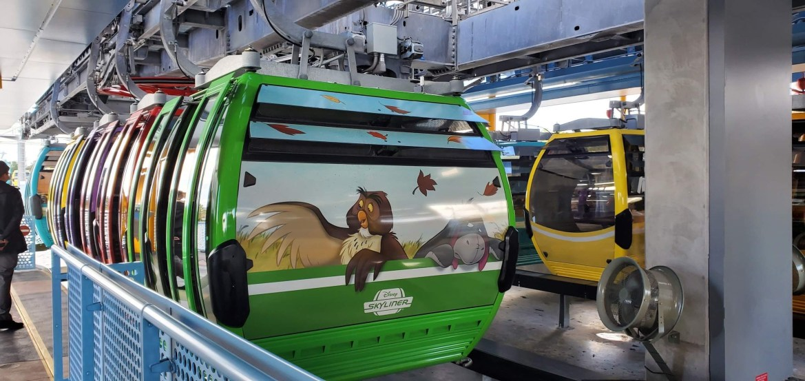Disney's Skyliner Closing For Brief Refurbishment In Early 2022