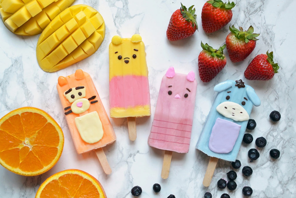 Cool Off With These Adorable Winnie The Pooh Popsicles!