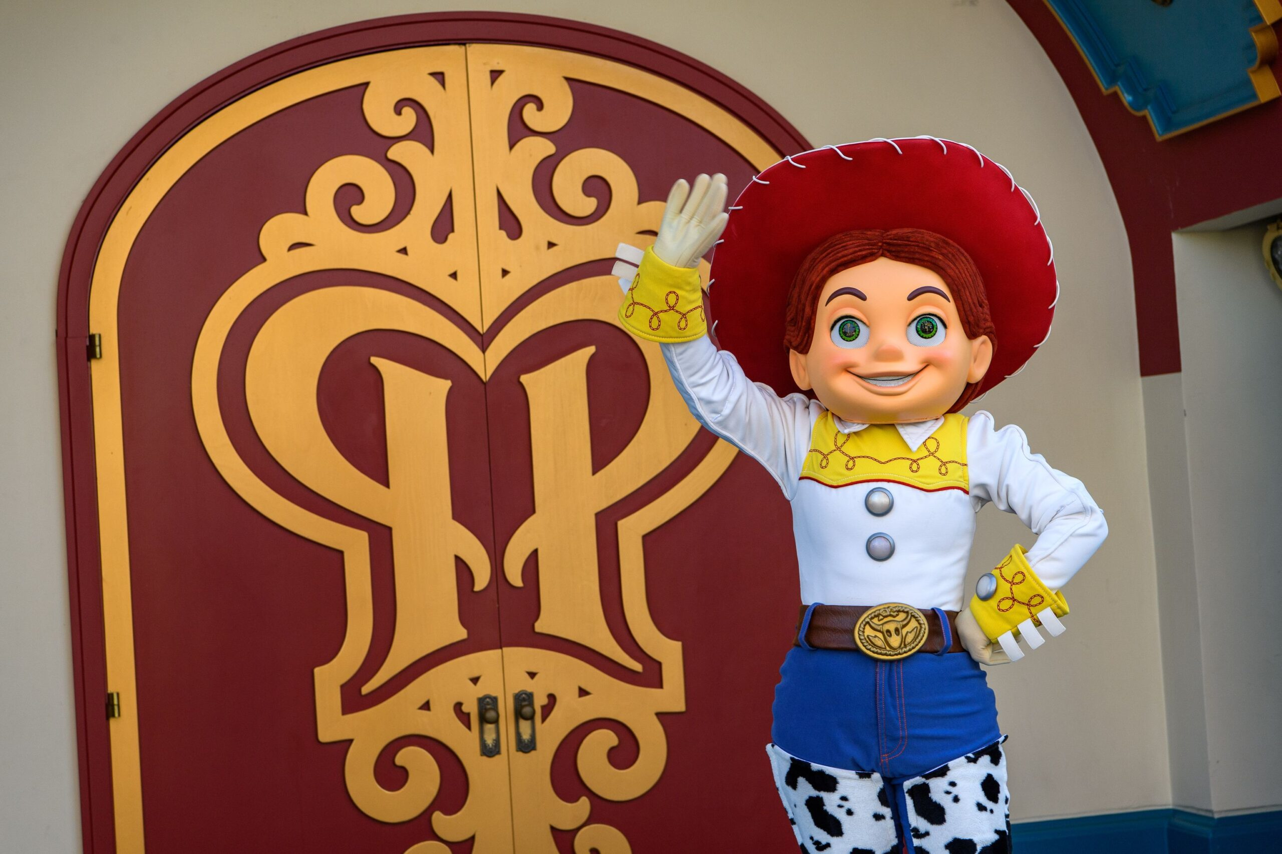 Disney characters welcome guests back to the Disneyland Resort! 12