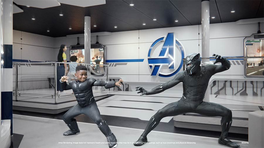 Take a stand with Marvel onboard the Disney Wish