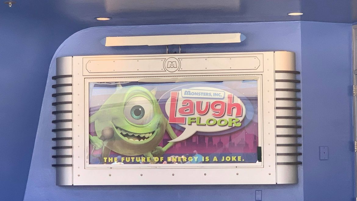 Signage Revealed for Monsters Inc. Laugh Floor