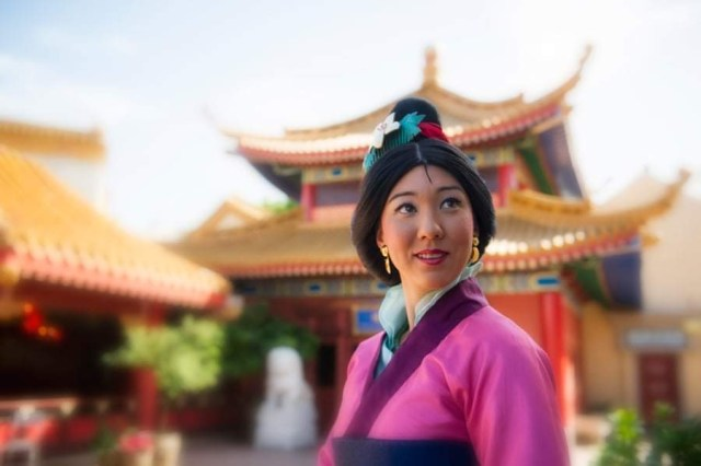 Socially distanced Mulan returns to China Pavilion in Epcot 2