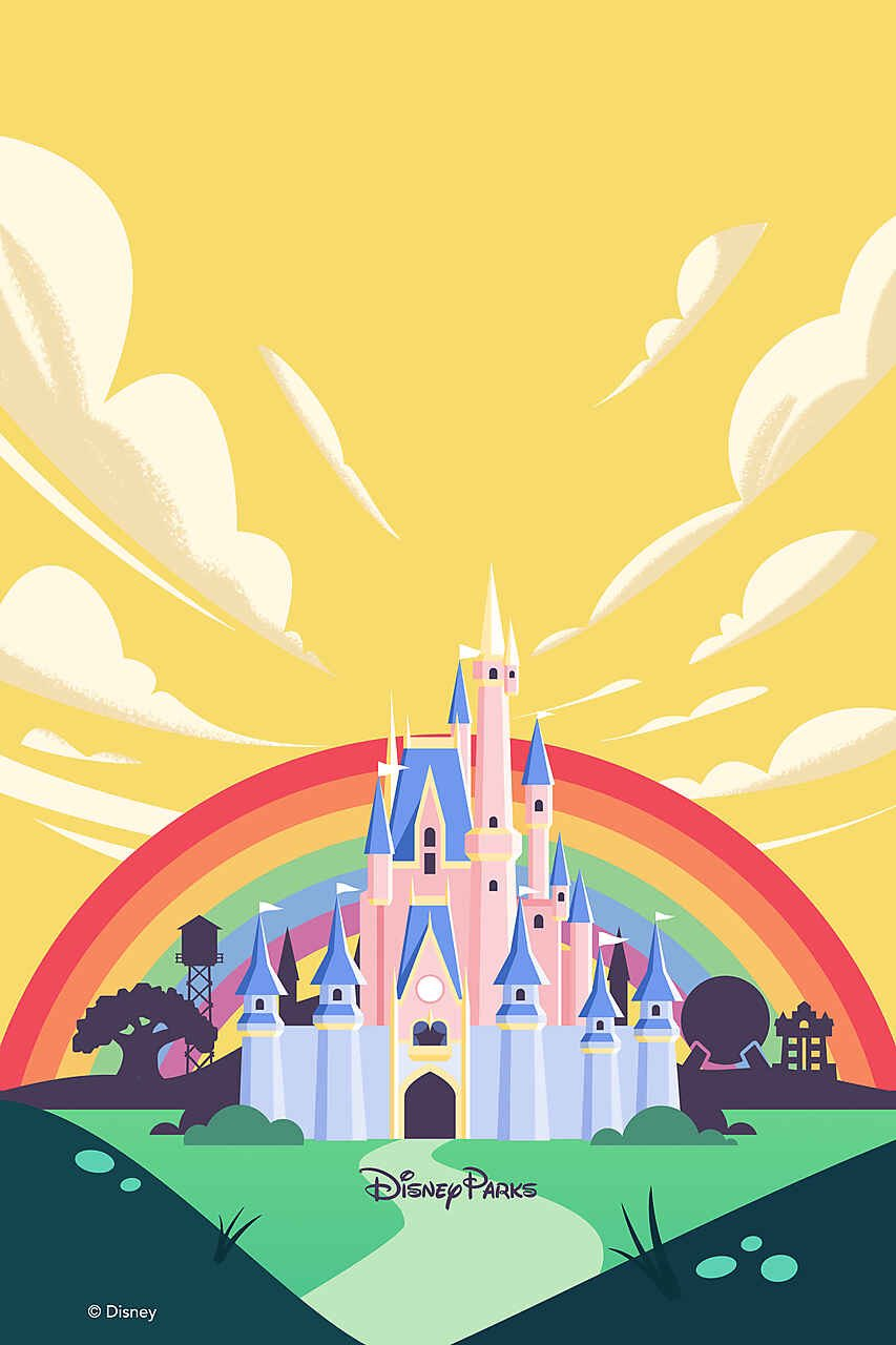 Share your Pride all month long at Walt Disney World 2