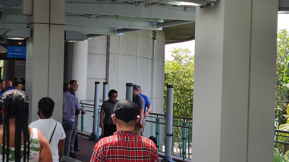 New Touchfree Security Scanners installed at Universal Orlando 2