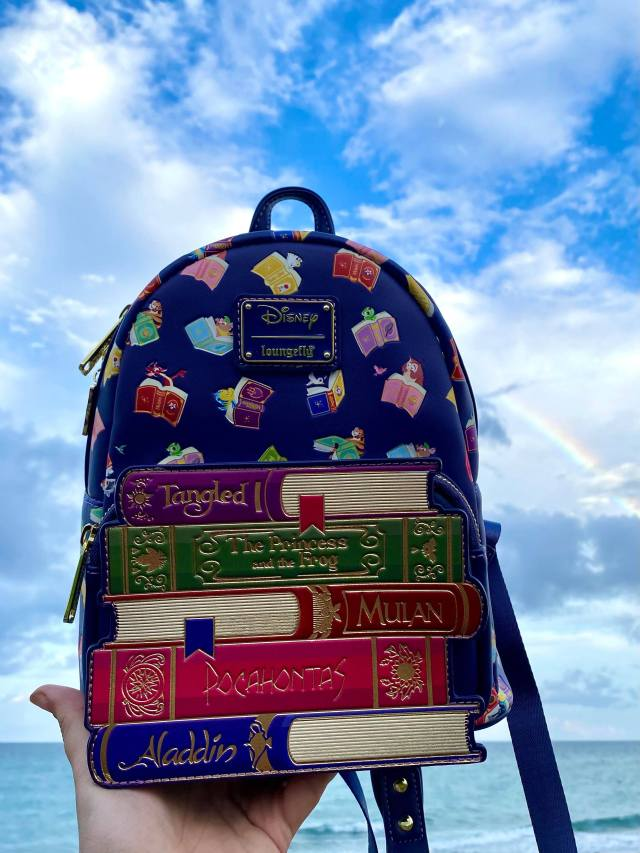 The Disney Princess Books Backpack Is Now At BoxLunch! 2