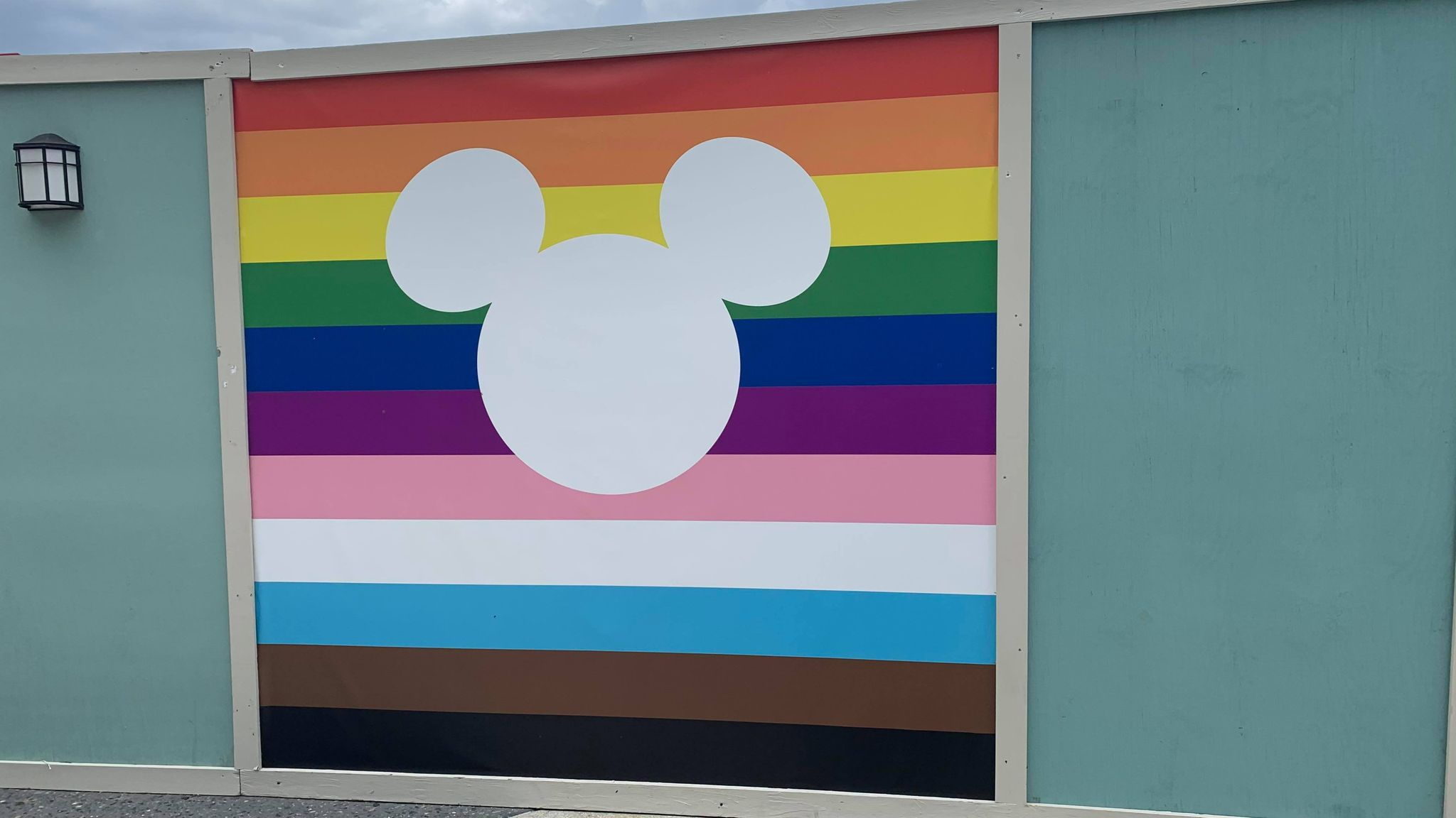 Show your pride in Disney Springs with these new Pride Walls 2