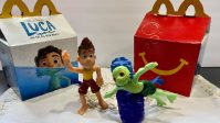 Luca Happy Meal Toys