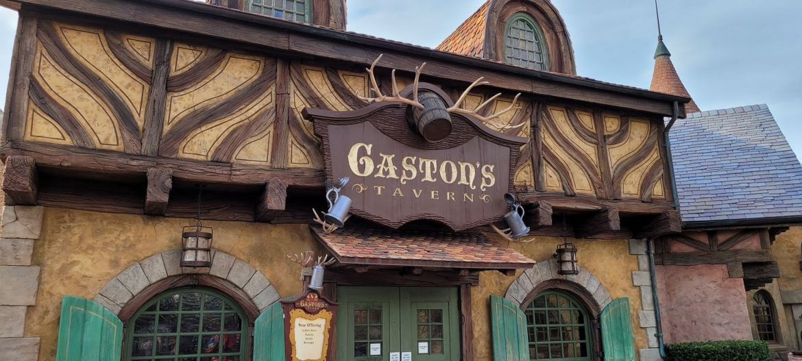 Construction being done on Gaston's Tavern and Bathrooms