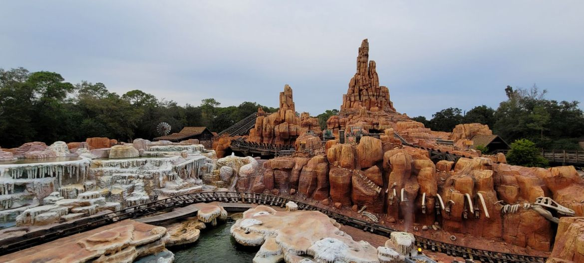 Big Thunder Mountain Railroad has reopened after refurbishment
