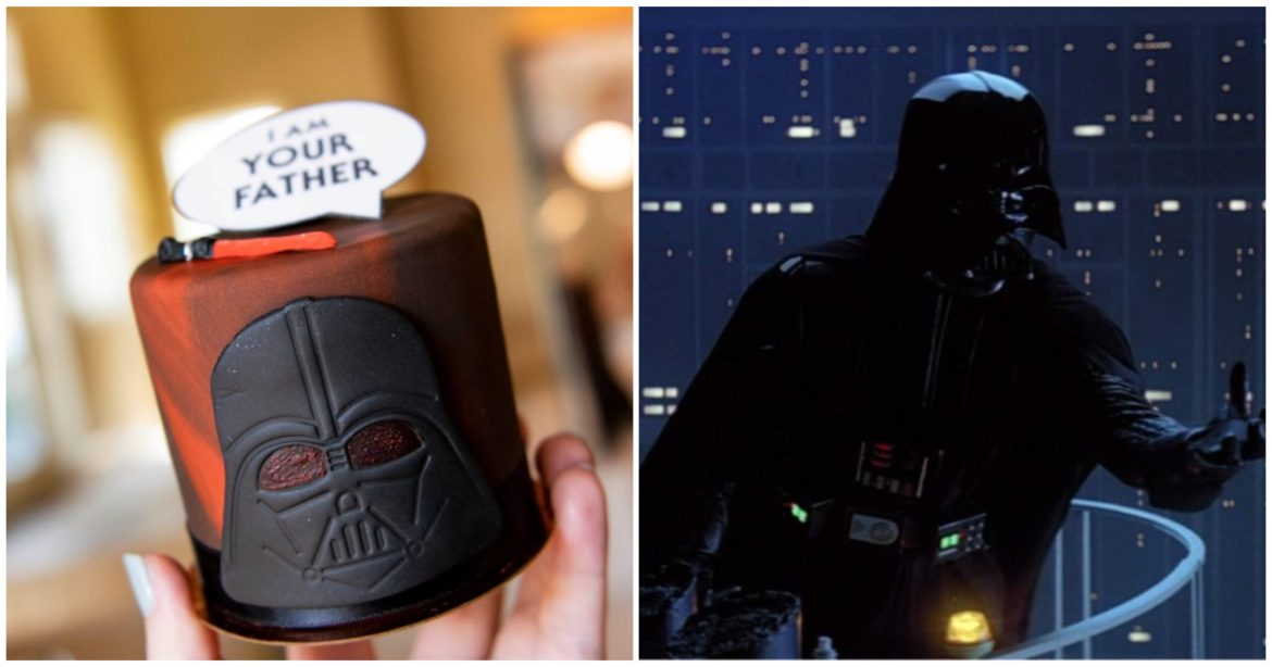 """Limited edition """"I Am Your Father"""" Petite  Cake now at Disney Springs"""