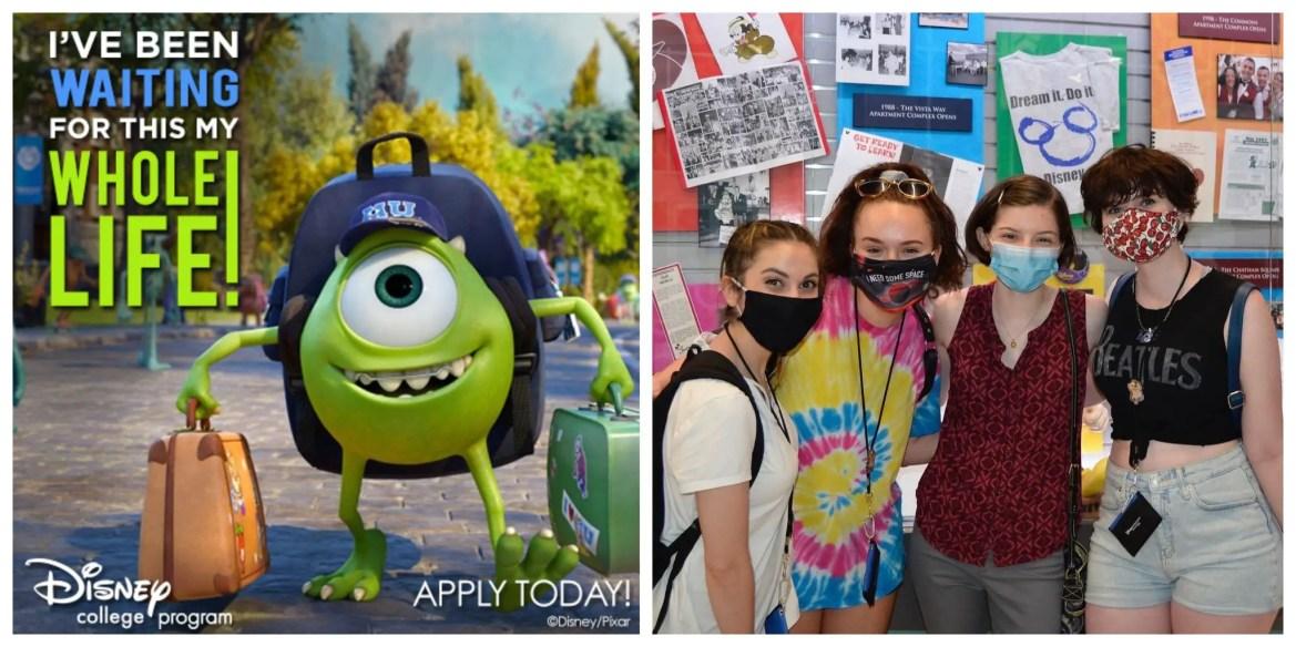 Disney Celebrates the return of the College Program