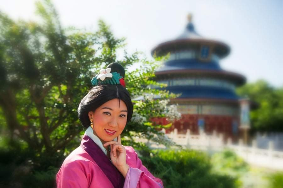 Socially distanced Mulan returns to China Pavilion in Epcot