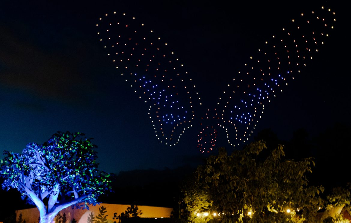 Dollywood's Summer Celebration opens with an exclusive INTEL® drone light show on June 25th
