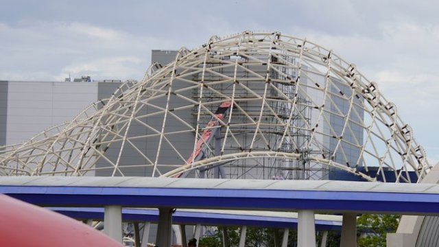 Look at the progress being made on Tron Lightcycle Run 1