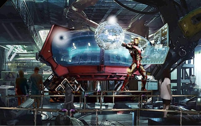 First Look at Iron Man Roller Coaster coming to Disneyland Paris 2