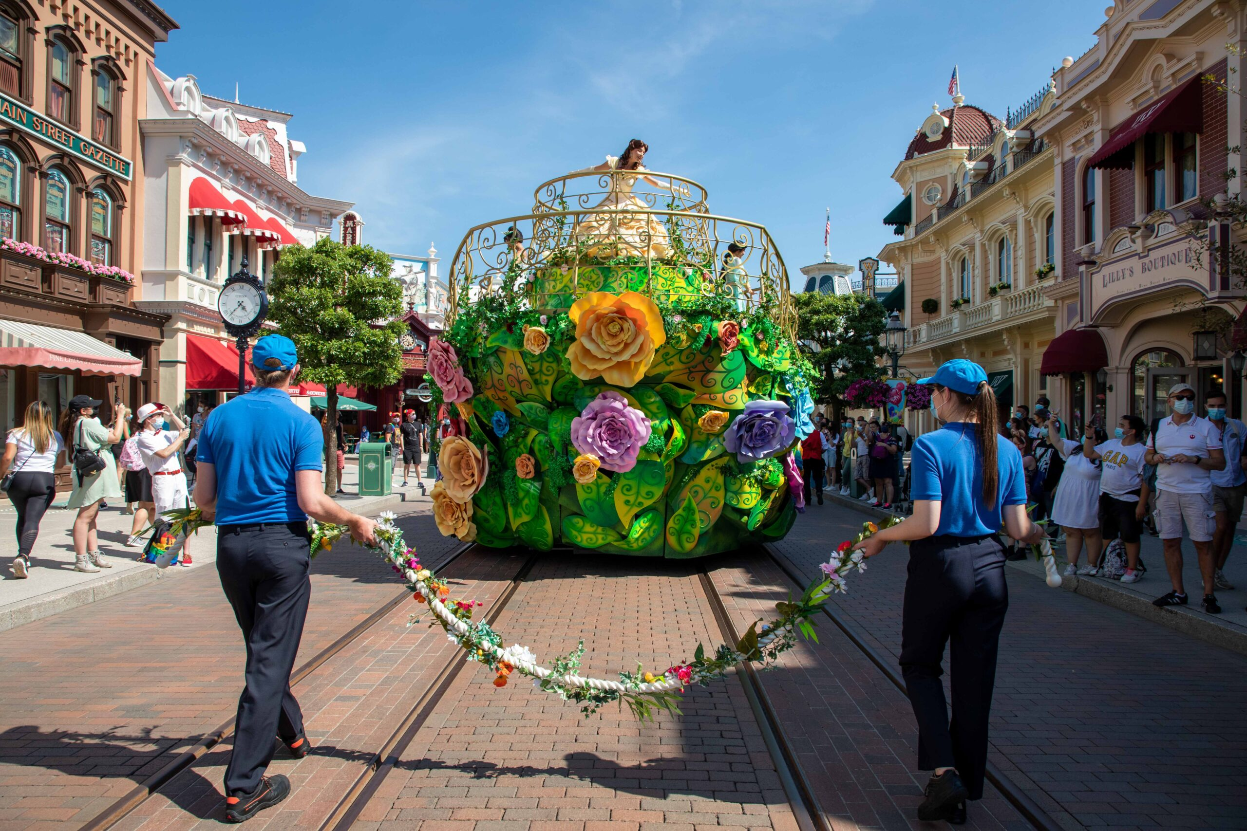 Disneyland Paris Officially Reopens today! 12