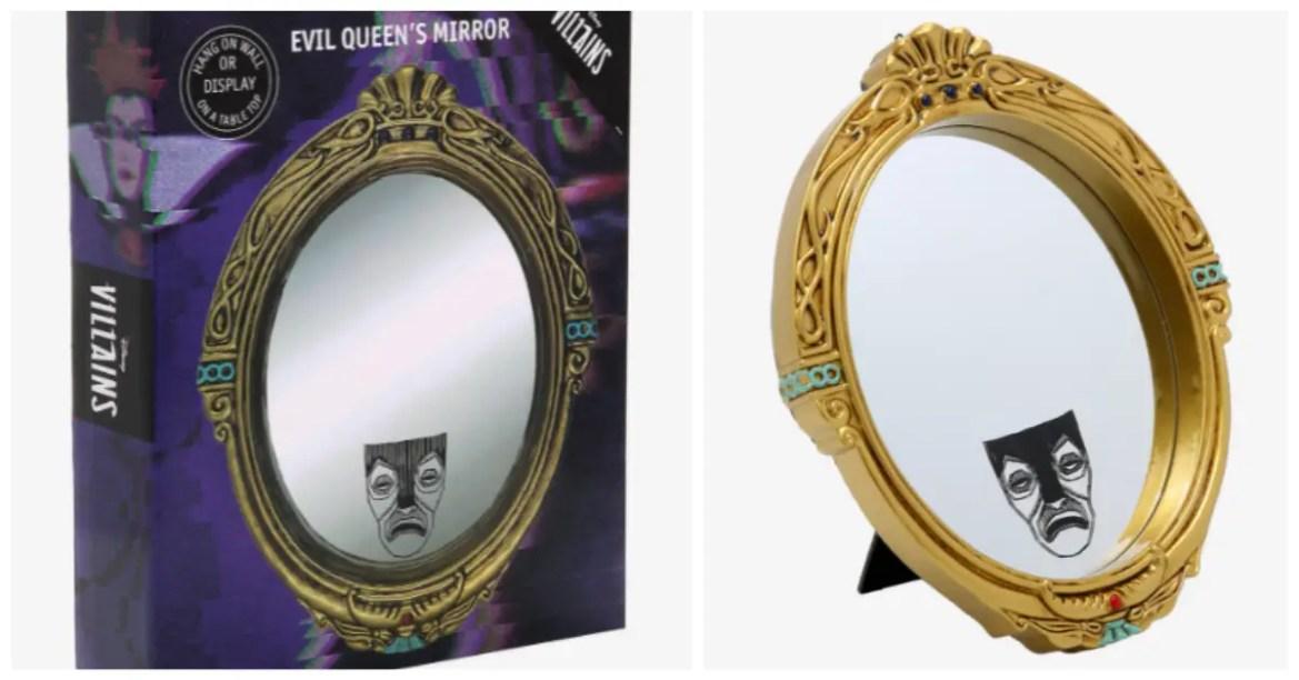Evil Queen Magic Mirror Casts A Spell