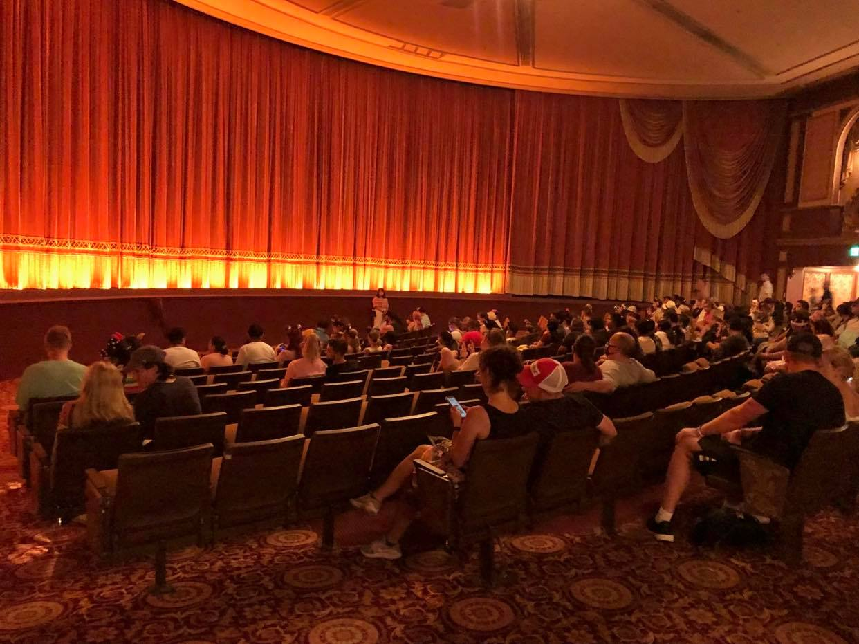 Beauty and the Beast Sing-Along in EPCOT Seating Every Row 5