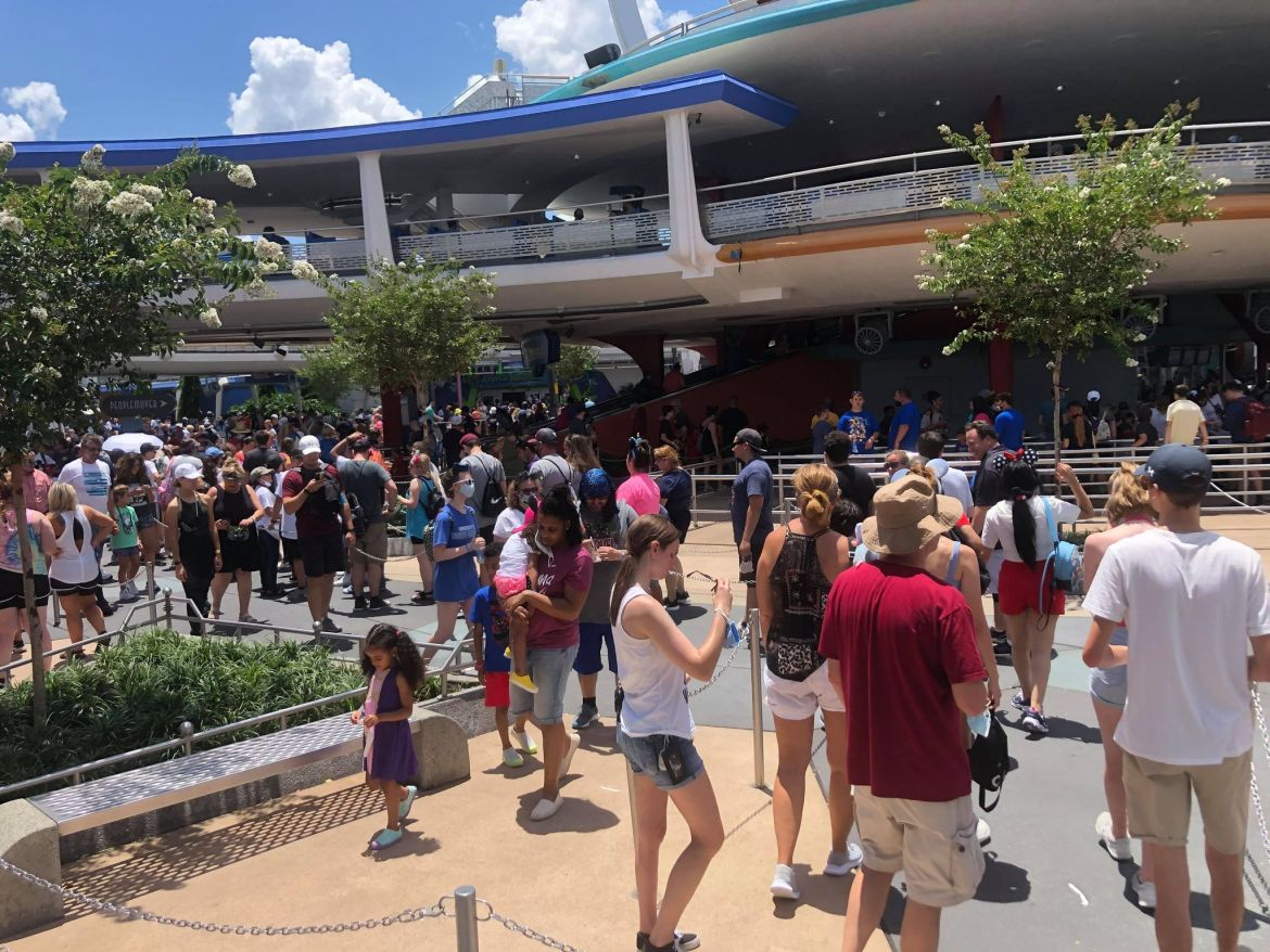 Social Distancing Markers Being Removed from Walt Disney World Rides and Attractions