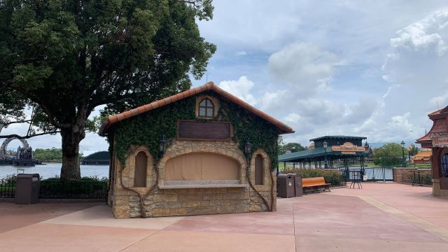 New Food & Wine Festival Booths Now in Epcot 5