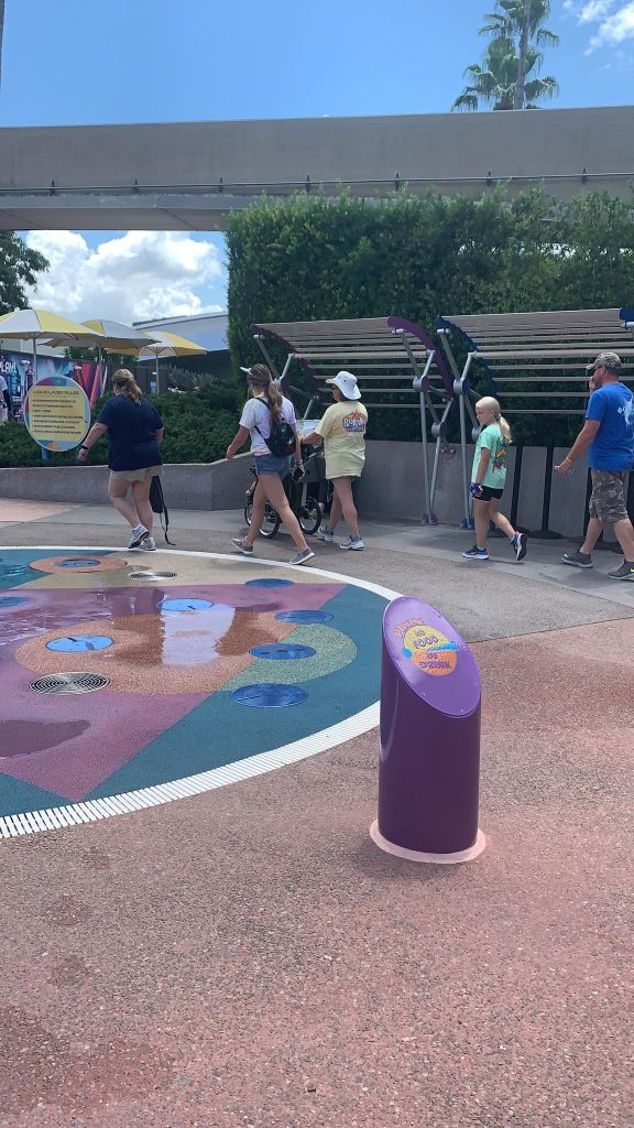 Outdoor Splash Pads Return to Operation in Epcot 2