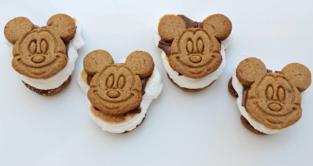 Have A Magical Evening With These Mickey S'mores!