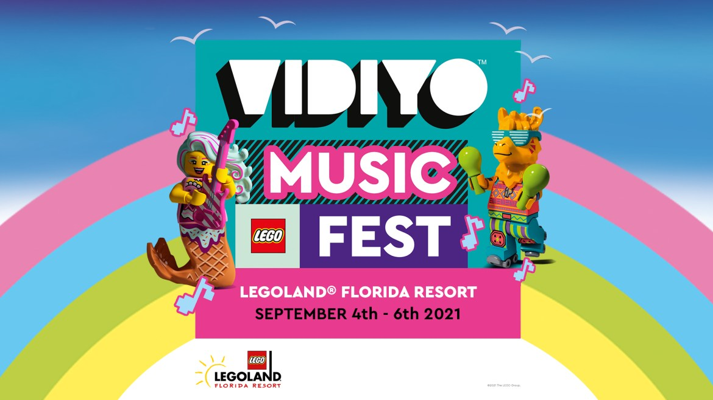Family-Friendly Music Fest coming to LEGOLAND Florida Resort