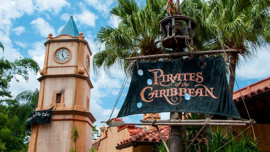 Plexiglass dividers removed from Pirates of the Caribbean