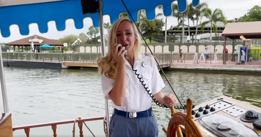 Singing Cast Member Provides Disney Magic for Guests