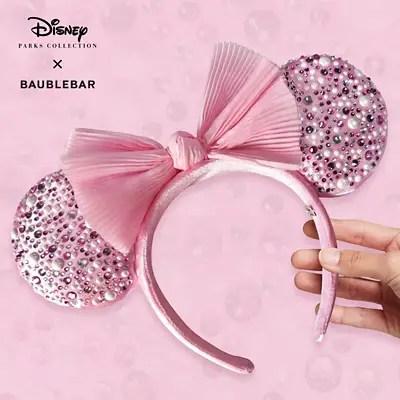 Designer BaubleBar Minnie Ears Coming Soon To shopDisney!