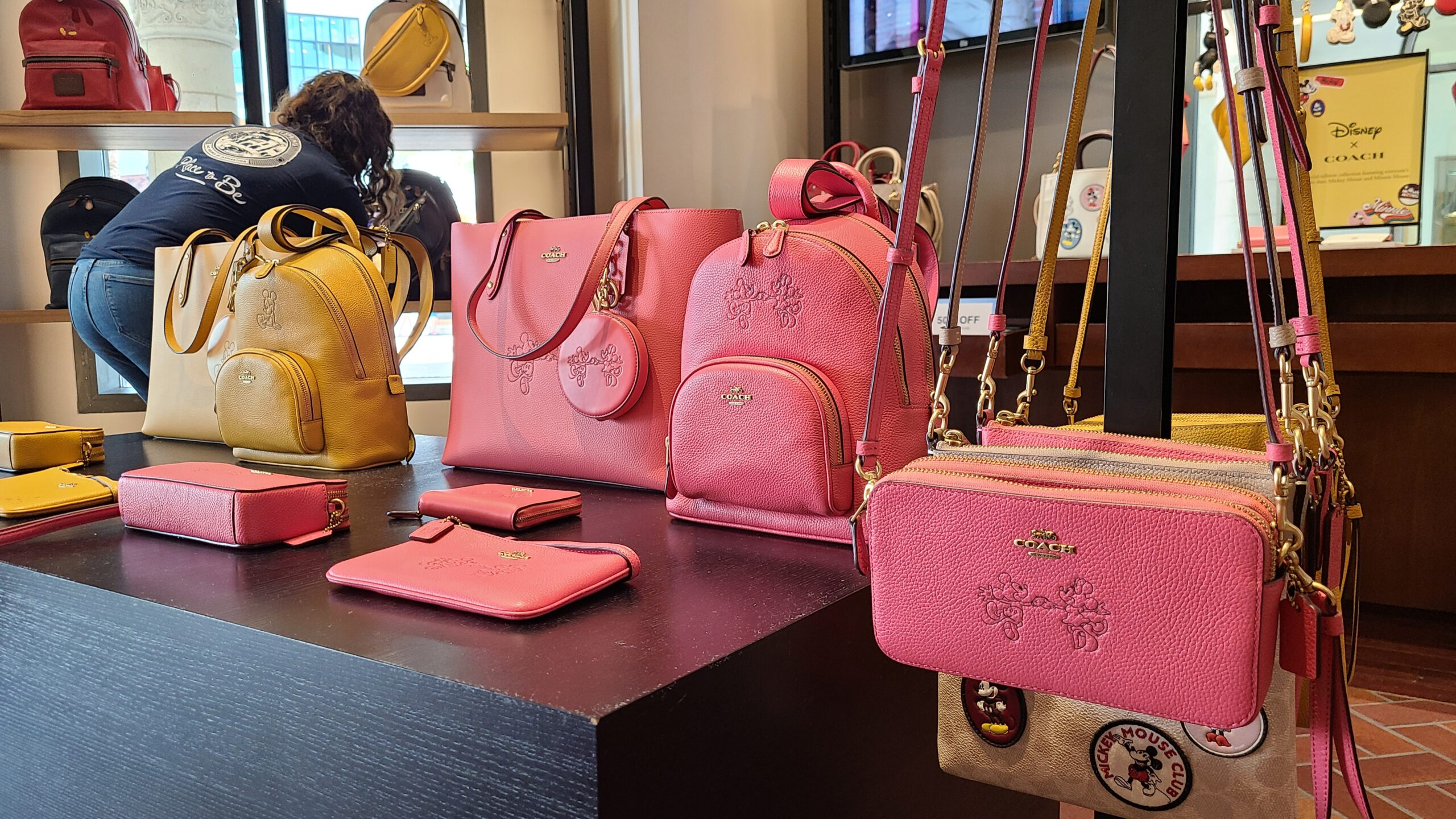 New Mickey & Minnie Coach Collection spotted at Disney Springs 2