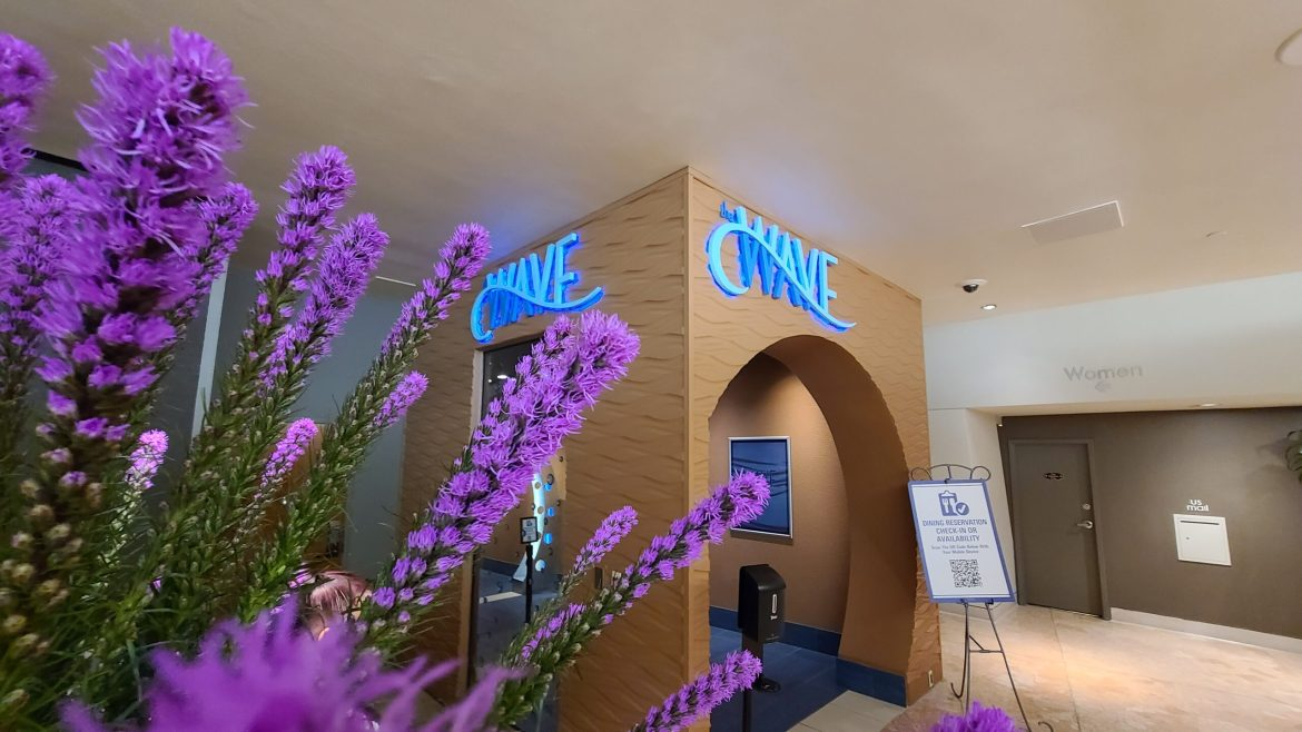 The Wave serving Breakfast at California Grill while closed for Refurbishment