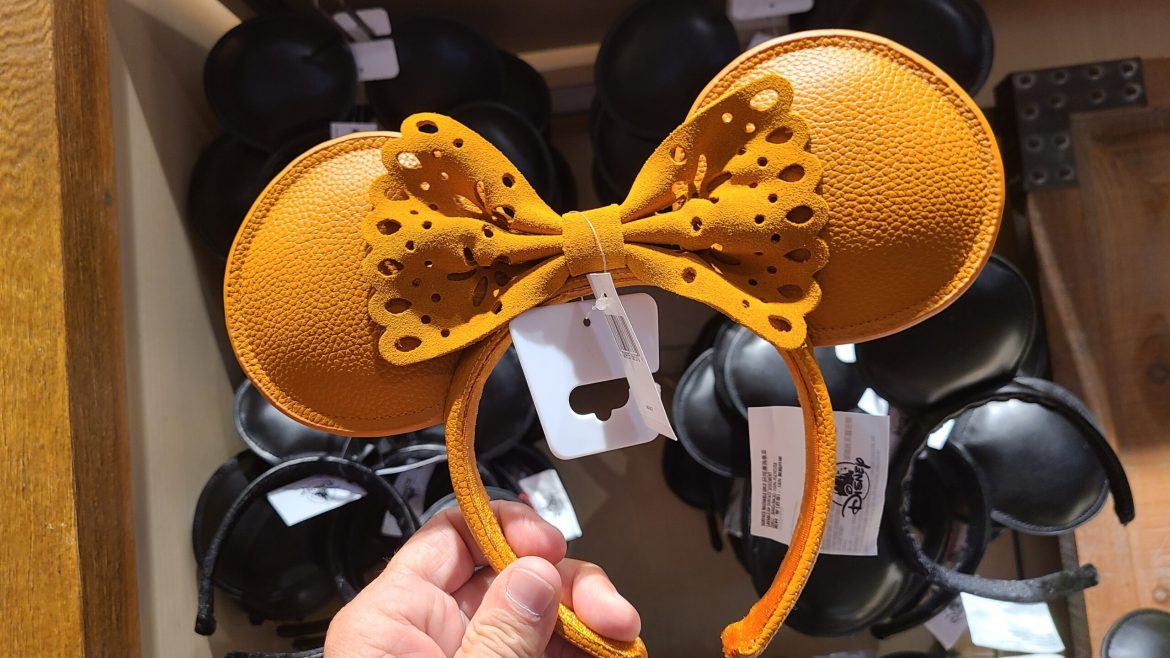 New Leather & Suede Minnie Ears at Disney Springs