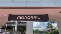 Epcot Monorail Sign