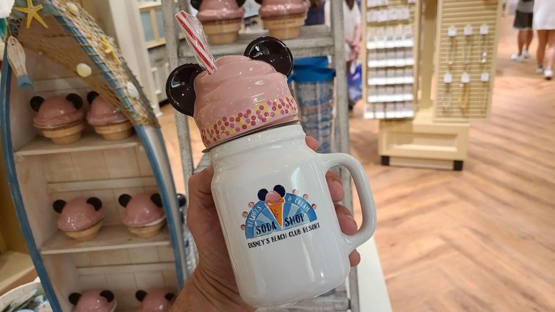 Mickey Ice Cream Cup From Beaches & Cream