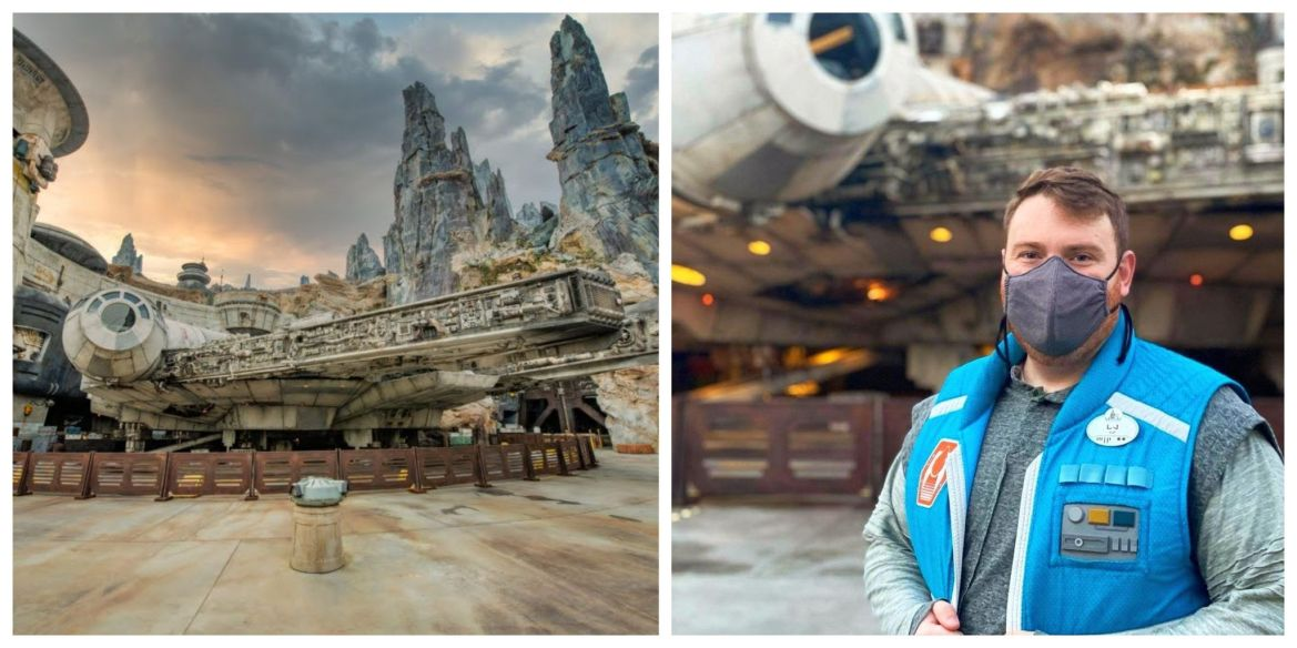 Cast Member created an unforgettable Star Wars proposal on Smugglers Run