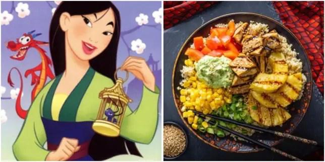 Dragon Fired Sesame Tofu Bowl Inspired By Mulan!