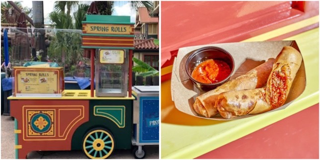 Learn How To Make Pepperoni Pizza Spring Rolls From Adventureland!