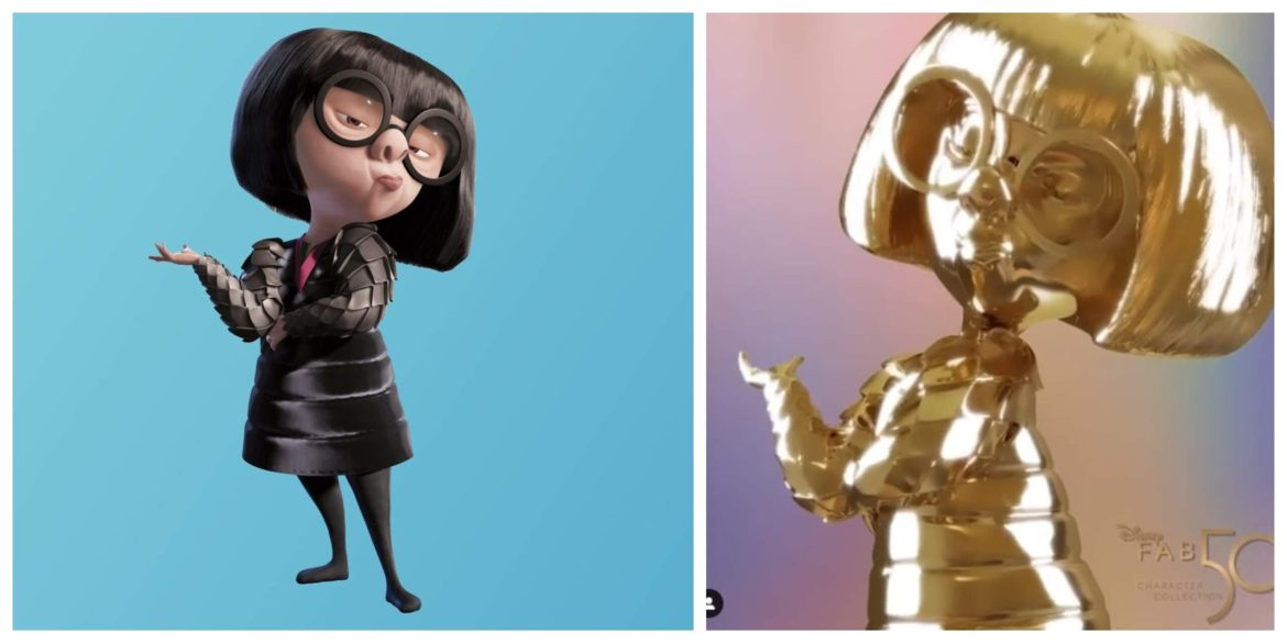 Edna Mode statue revealed as next Disney Fab 50 Character Collection