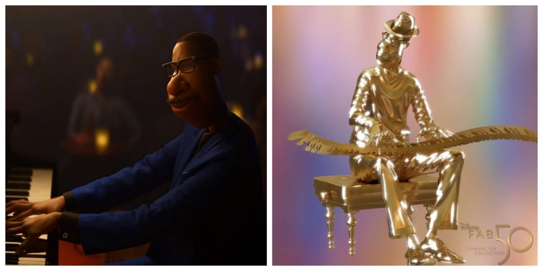 Joe Gardner from Pixar's Soul is next Disney Fab 50 Statue