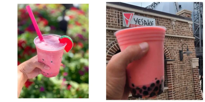 Seasonal new Watermelon Boba Slushie at YaSake