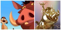 """Timon and Pumbaa Revealed for """"Disney Fab 50 Character Collection"""" 3"""