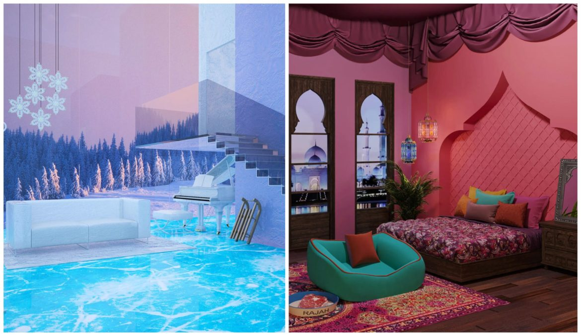 See How the Disney Princesses Would Decorate Their Homes in Modern Times
