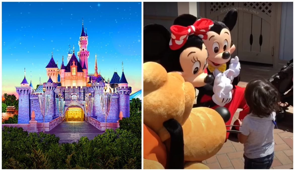 Mickey, Minnie, and Pluto Share a Magical Disney Moment with Deaf Child in Disneyland