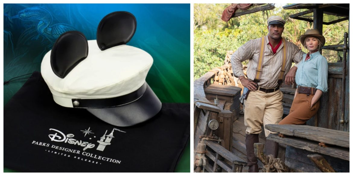 Jungle Cruise Skipper Ear Hat designed by Dwayne 'The Rock' Johnson Coming to shopDisney